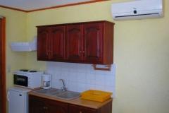sunrise apartments studio kitchen